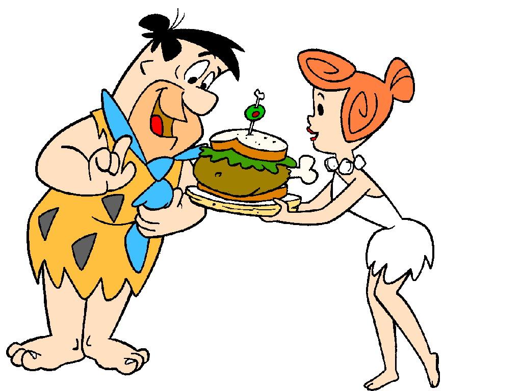 Cartoons Clip Art Flintstones Picgifs Com
