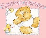 Forever friends clip art