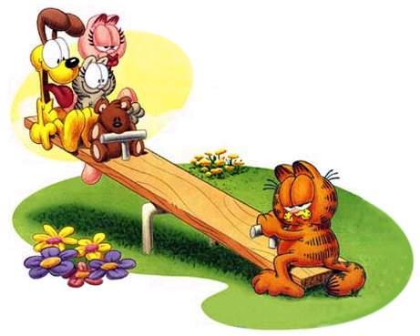 Clipart Garfield Dog Food