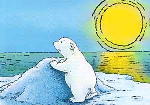 Cartoons Clip art Little polar bear