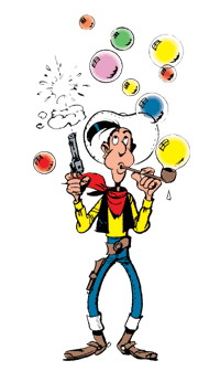 Lucky Luke surveille Alphabet