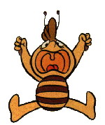 Maja the bee clip art