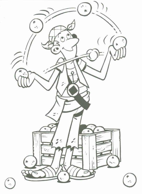 Piet pirate clip art
