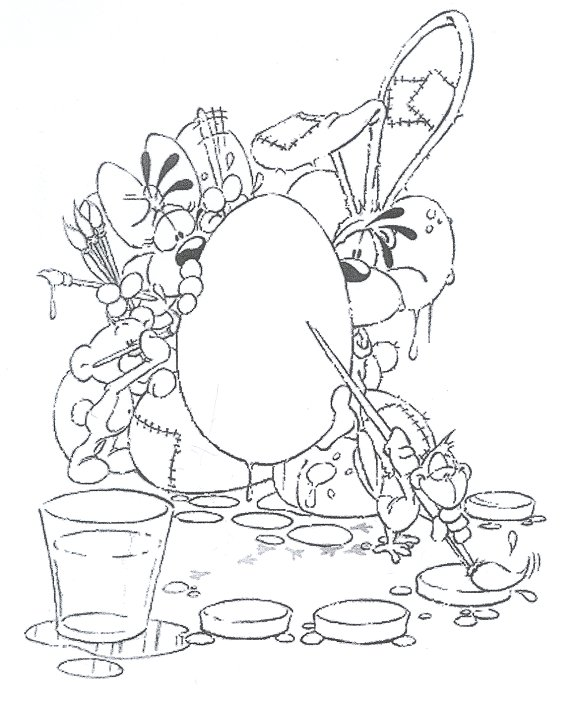 Pimboli Bear Sit on Trunk Coloring Page - Free Pimboli Coloring Pages :  ColoringPages101.com | 704x576