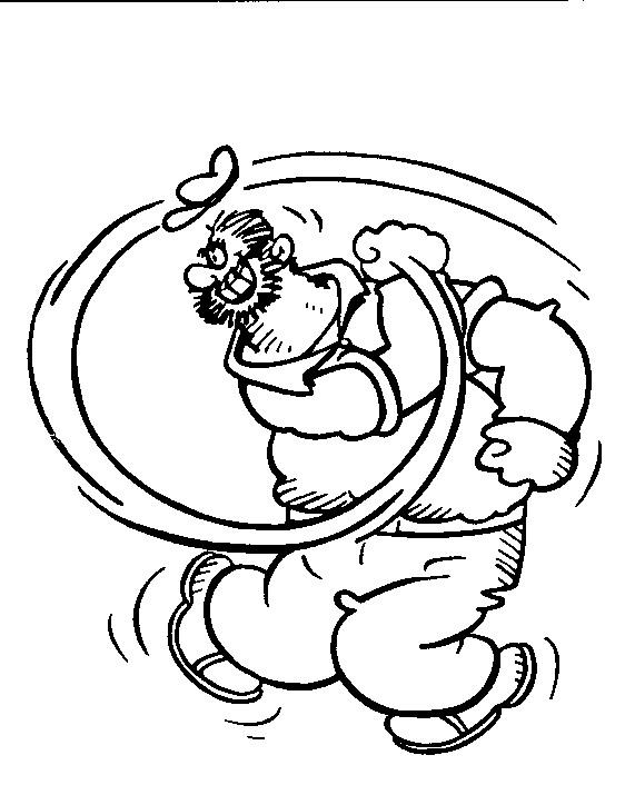 Popeye clip art