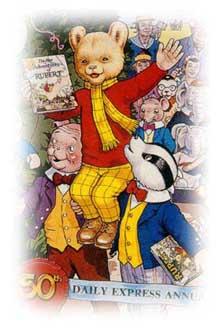 Rupert bear clip art