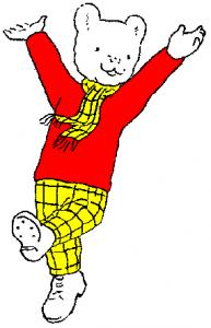 Image result for rupert bear
