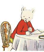 Cartoons Clip art Rupert bear