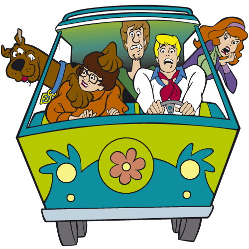 Cartoons Clip art Scooby doo