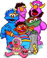 Sesame street clip art