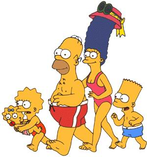 Simpsons clip art
