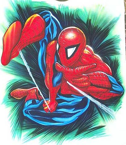 Spiderman clip art