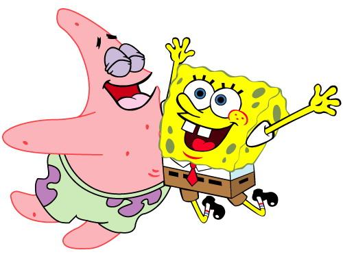 Spongebob clip art