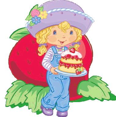 Clip Art - Clip art strawberry shortcake 088205