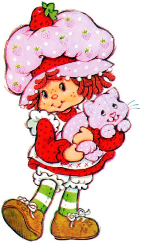 Strawberry shortcake clip artVintage Strawberry Shortcake Images