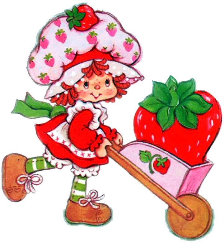 Clip Art - Clip art strawberry shortcake 181723