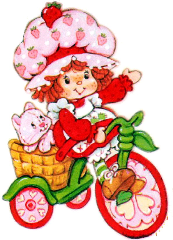 Cartoons Clip art Strawberry shortcake