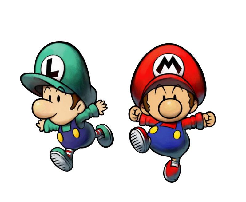 cartoons clip art super mario - Bebe Mario