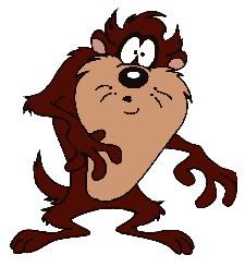 cartoons clip art tasmanian devil picgifs com rh picgifs com  tasmanian devil clipart