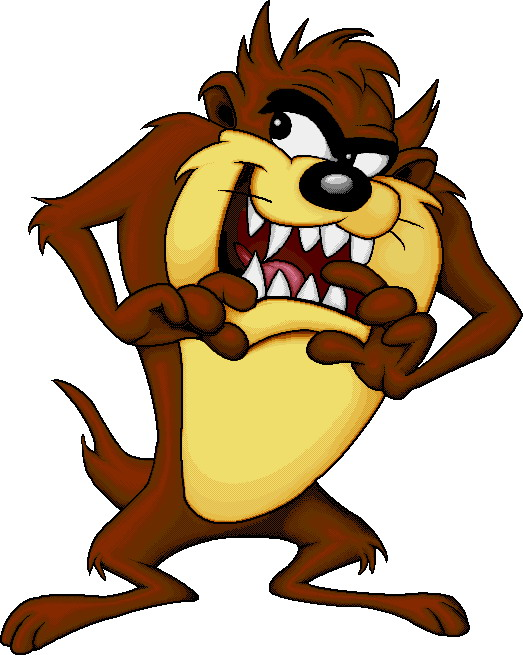 Cartoons clip art tasmanian devil - Tasmanian devil cartoon images ...