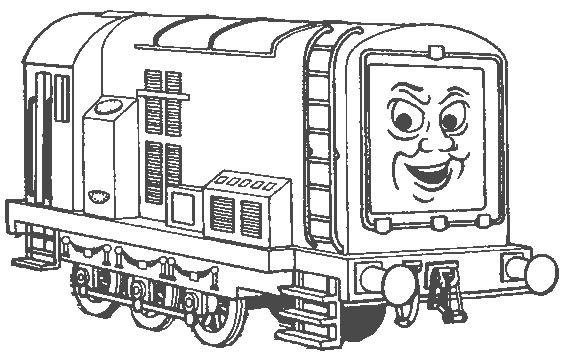 Thomas tank engine clip art
