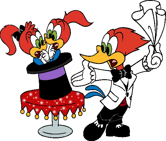 Woody woodpecker clip art