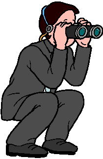 Binocular clip art