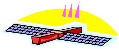 Satellite clip art