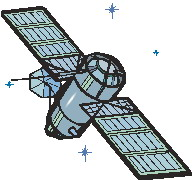 Clip Art - Clip art satellite 888805