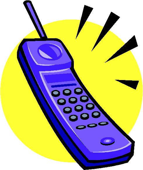 Clip Art - Clip art telephone 026929