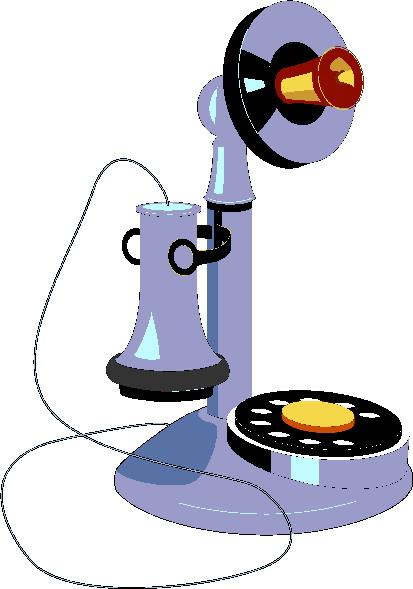 Telephone clip art