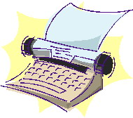 Clip art Communication Typewriter