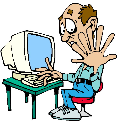 computer animated clipart - photo #28