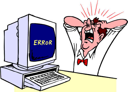 Image result for computers error clipart