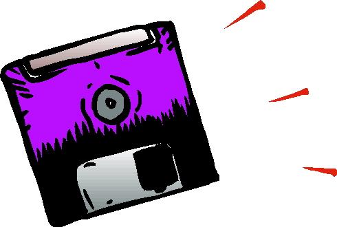 Diskette clip art