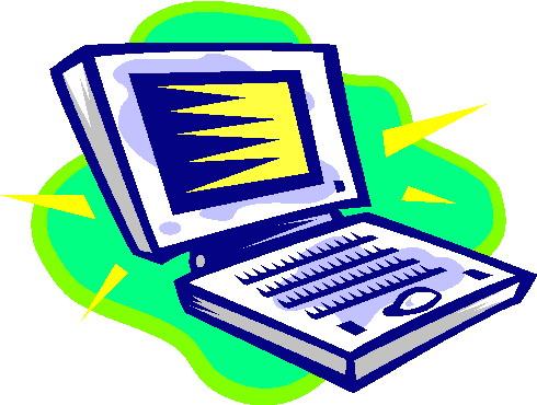 Laptops clip art