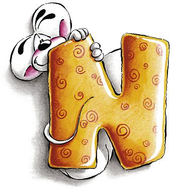 Diddl alphabet clip art