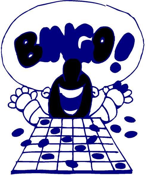 Clip art Entertainment Bingo