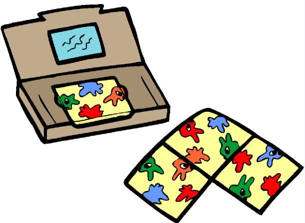 Board games clip art