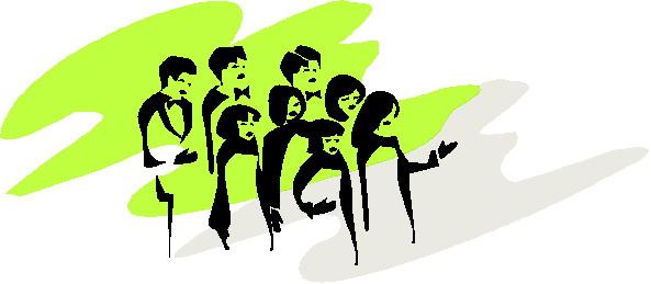 Choirs clip art