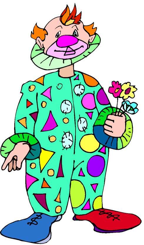clipart of clown - photo #25