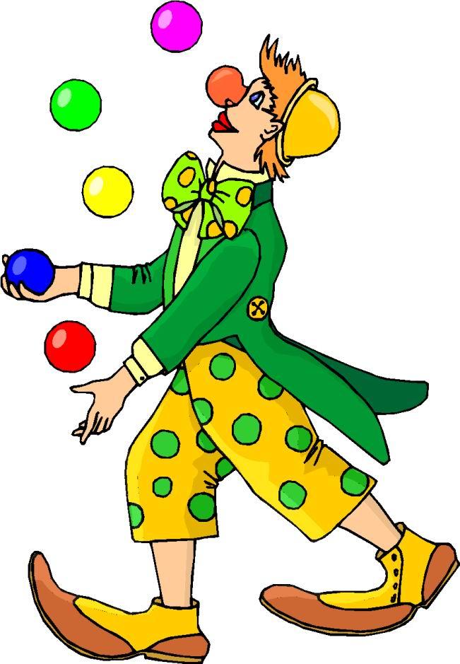 clipart of clown - photo #13