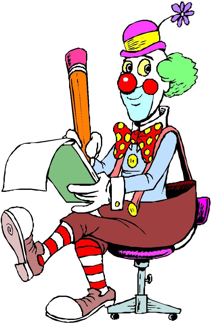 clipart of clown - photo #46