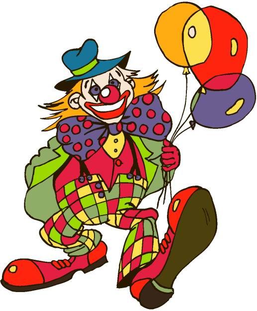 clipart of clown - photo #35
