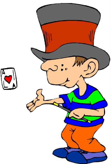 Magic tricks clip art