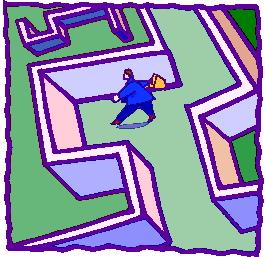 Maze clip art