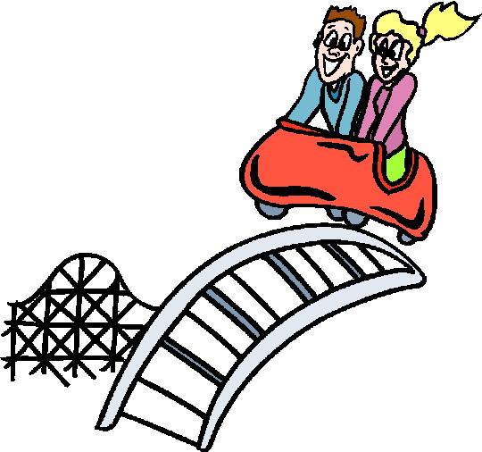 Clip Art - Clip art rollercoaster 551908