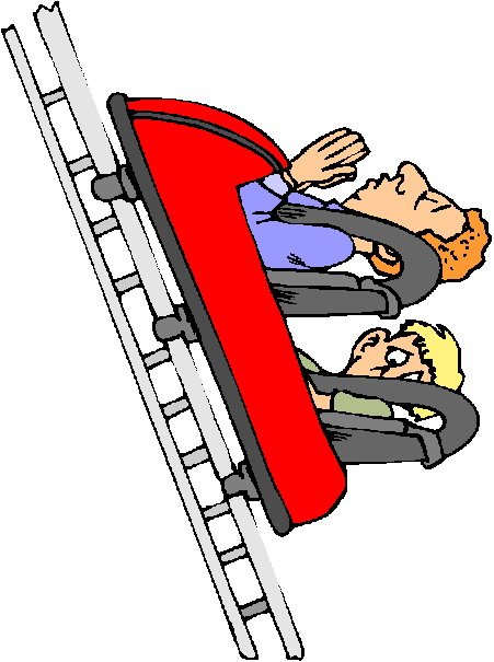 Roller Coaster Car Cartoon Rollercoaster clip art