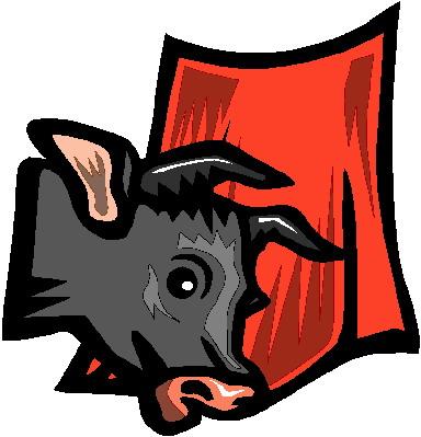 Bulls clip art