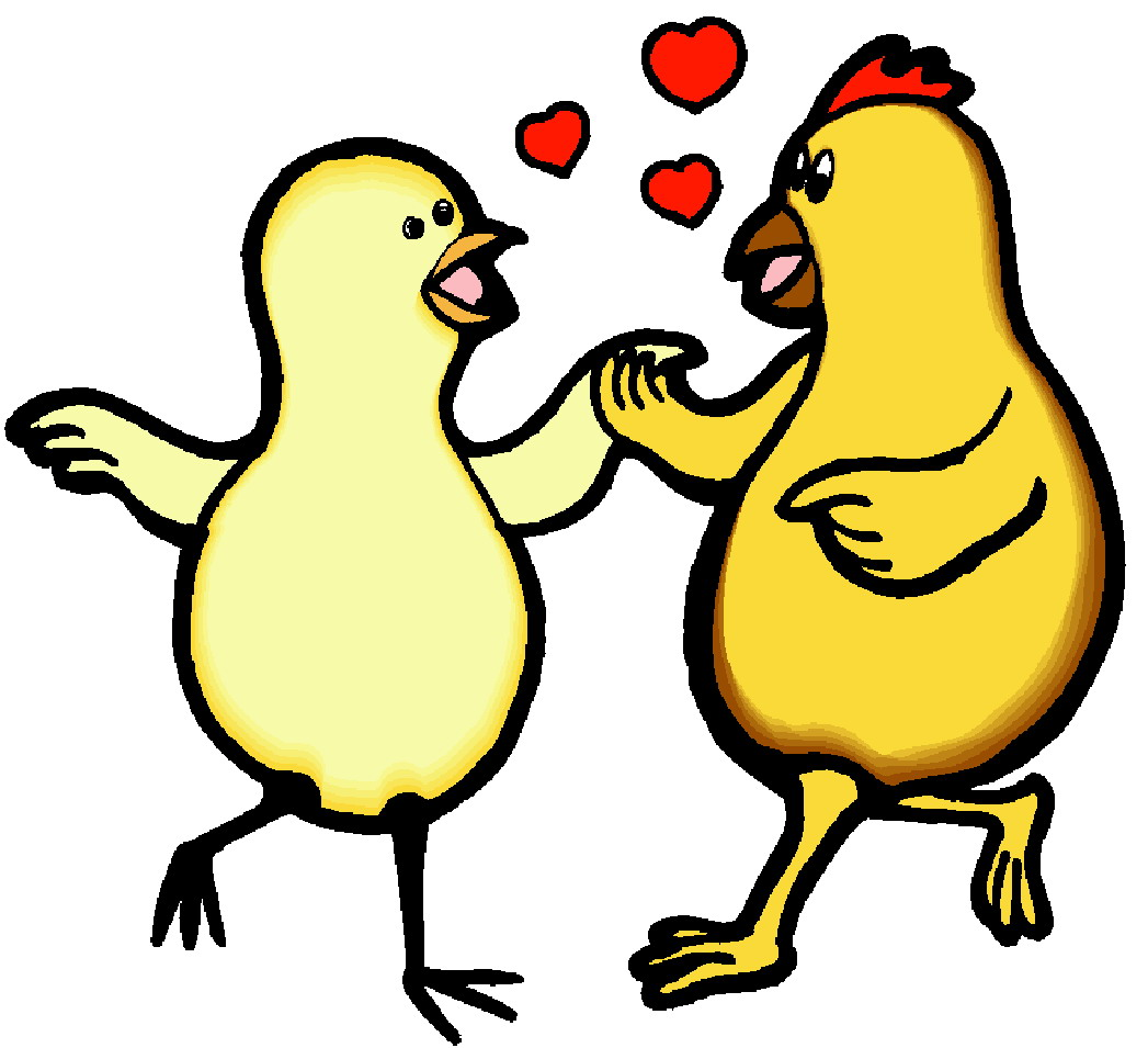clipart of chickens  - photo #49